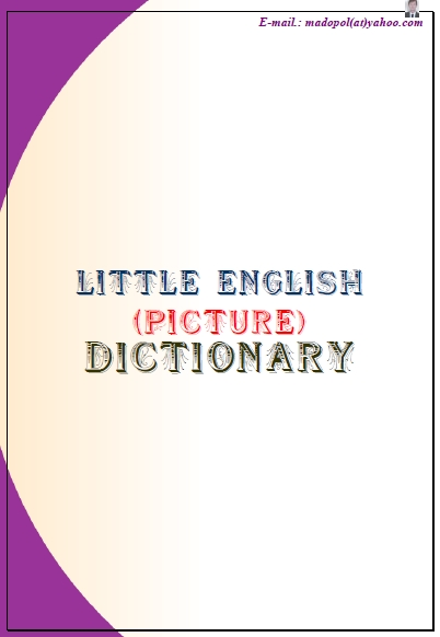 Anglisht me foto dhe fjali -  English with photos and words -  Little Picture Dictionary