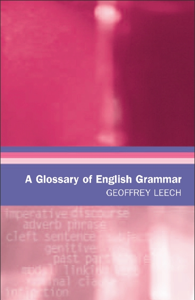 A Glossary of English Grammar