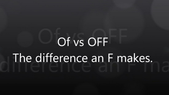Of vs Off