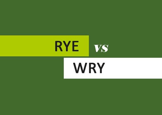 Rye vs Wry