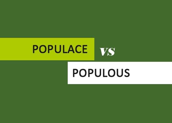 Populace vs Populous