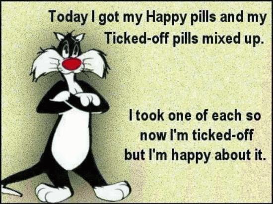 ticked