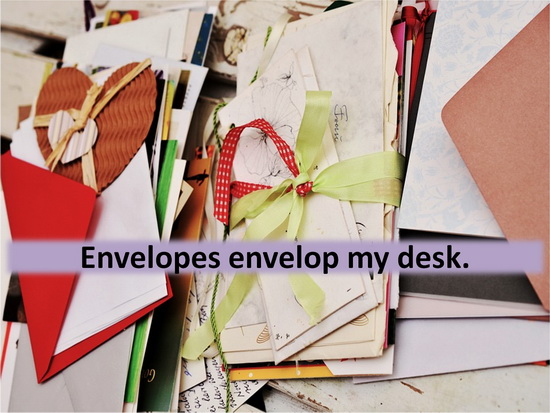 Envelop vs Envelope